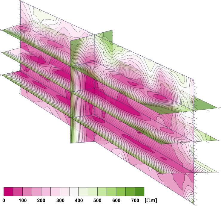 GeoSpectrum - Wizualizacja przestrzenna danych tomografii opornościowej 3D