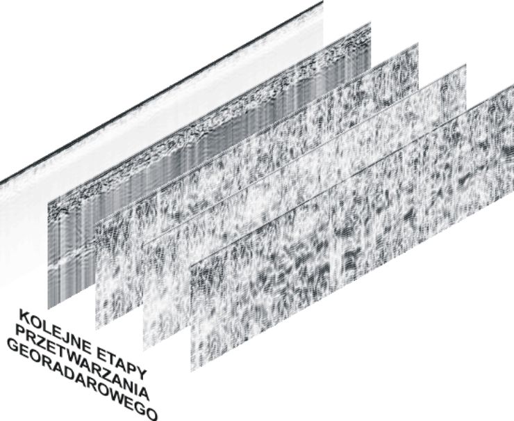 GeoSpectrum - Etapy przetwarzania georadarowego