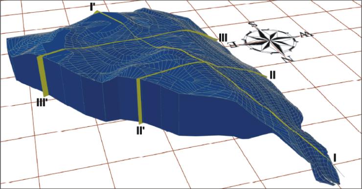 GeoSpectrum - Model 3D składowiska skonstruowany na podstawie pomiarów geodezyjnych oraz badań geofizycznych