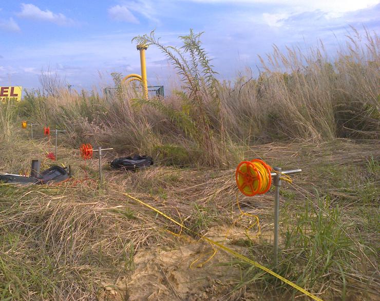 GeoSpectrum - Pomiary oporności gruntu metodą sondowania elektrooporowego układem Wennera dla potrzeb projektowanego gazociągu