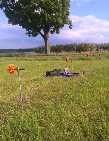 GeoSpectrum - Pomiar elektrooporowy dla określenia właściwych do uziemienia warstw gruntowych dla projektowanej turbiny wiatrowej