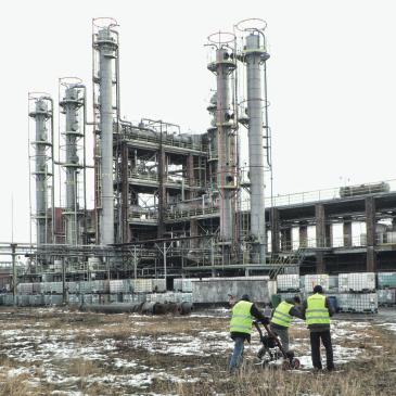GeoSpectrum - Lokalizacja fundamentów i innych obiektów w gruncie za pomocą wielokanałowej metody georadarowej dla potrzeb projektu rozbudowy instalacji zakładów chemicznych