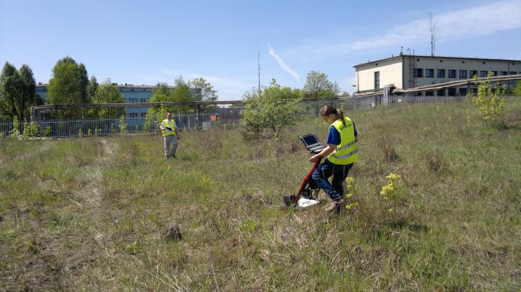 GeoSpectrum - Badania georadarowe przedprojektowe poprzedzające roboty geologiczne w celu określenia optymalnych miejsc dla badań geotechnicznych oraz wykrycia starych fundamentów i piwnic