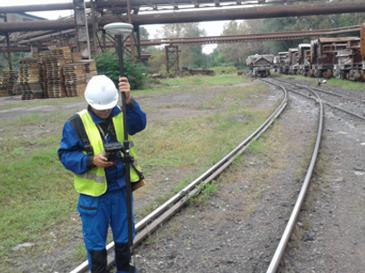 GeoSpectrum - Prace geodezyjne w obrębie kolejowych ciągów komunikacyjnych