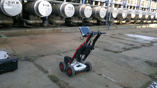 GeoSpectrum - Multichannel GPR survey in order to determine the optimal corridor for the newly designed drilling HDD of additional power cables