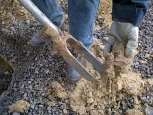 geotechnical hand drillings