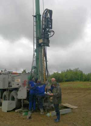 auger drillings